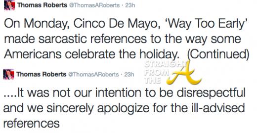 MSNBC Cinco De Mayo Apology