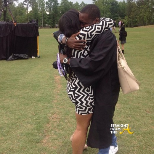 Marquise Jackson Graduation 2014 StraightFromTheA