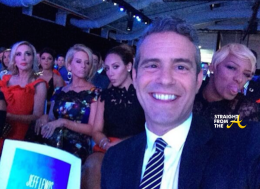 Nene Leakes Andy Cohen Selfie NBCU Upfronts 2014