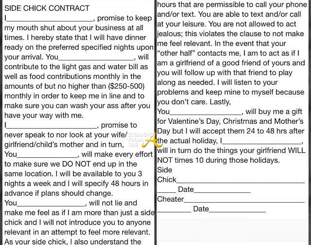 side chick application