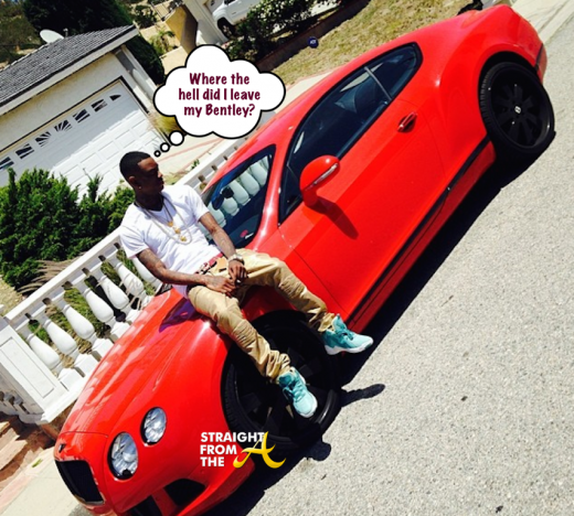 Soulja Boy Red Bentley StraightFromTheA 1
