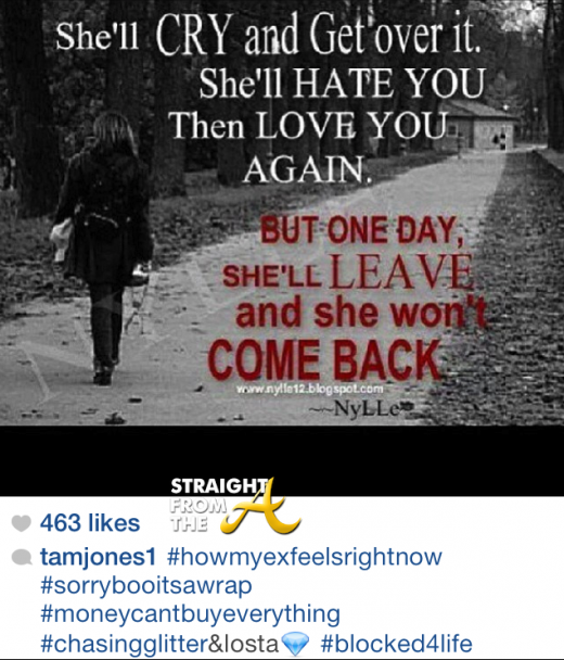 Tamala Jones Instagram 2014 1