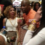 Caught on Tape: T.I. & Floyd Mayweather Fight Over Tiny… [VIDEO]
