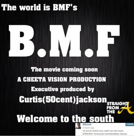 50 Cent BMF StraightFromTheA