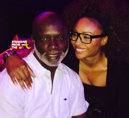 Cynthia Bailey Peter Thomas StraightFromTheA 2