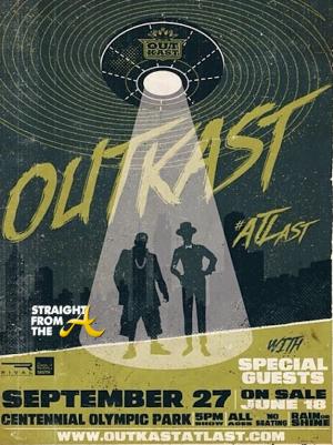 Outkast ATLast Atlanta Concert StraightFromTHeA