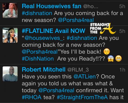 Porsha tweet 2014