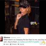 T-Boz of 'TLC' Shades Rihanna For Too Much 'Skin' + RihRih Responds w/Twitter Beef… [VIDEO]