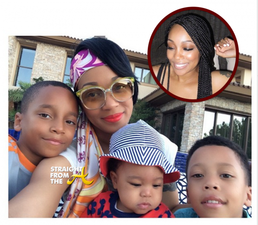 Monica Brown and Kids 2014 - StraightFromTheA