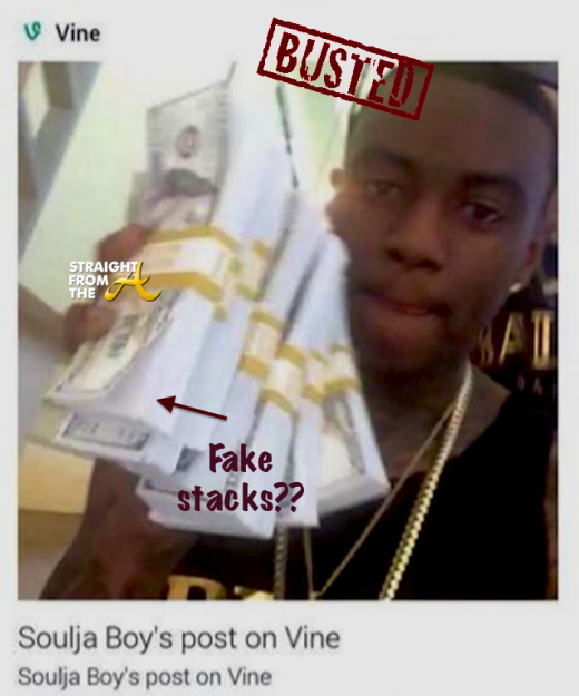 Soulja Boy Fake Stacks