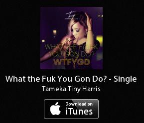 WTFYGD - Tameka Tiny Harris - iTunes Link