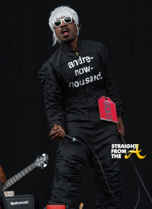 Andre 3000 - Wireless Festival 2014 1