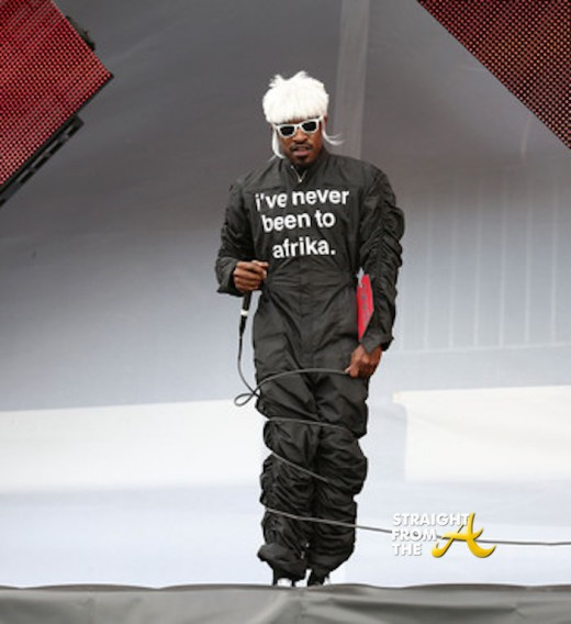 Andre 3000 - Wireless Festival 2014 3
