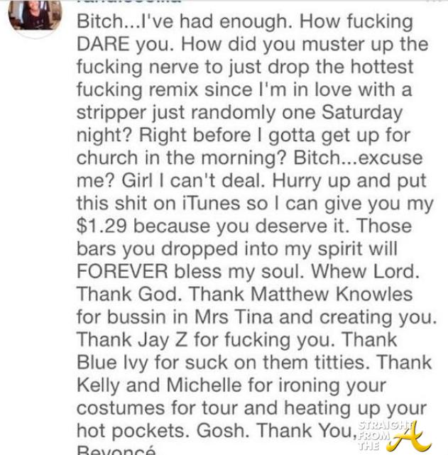 Перевод текста песни ***Flawless (Remix) исполнителя (группы) Beyoncé. 3. 4....