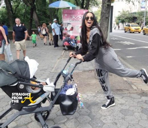 Ciara Baby Future - NYC 2014