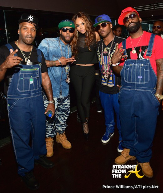 Demetria McKinney and Jagged Edge
