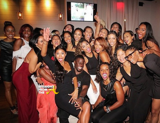 Kevin Hart Eniko Engagement - StraightFromTheA