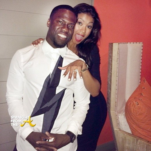 Kevin Hart Eniko Parrish Engaged - StraightFromTheA