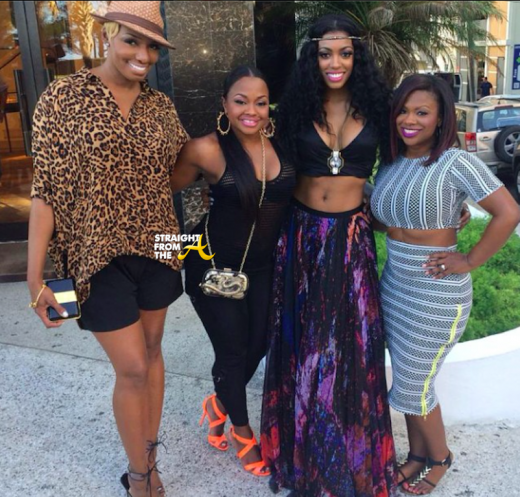 Nene Leakes, Phaedra Parks, Porsha Williams, Kandi Burruss - RHOA Trip 2014