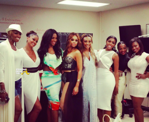 RHOA Season 7 Cast - Group Shot - StraightFromTheA