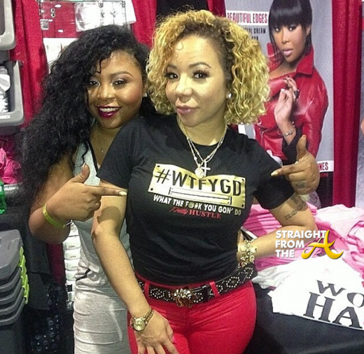 Shekinah Jo Anderson and Tameka Tiny Harris - StraightFromTheA 1