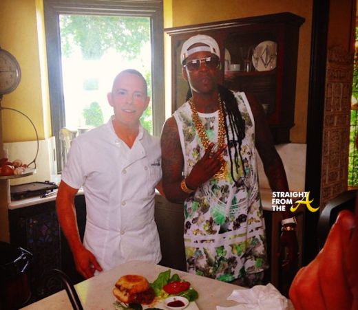 2 Chainz and Creator of the $295 burger Chef Joe Calderone
