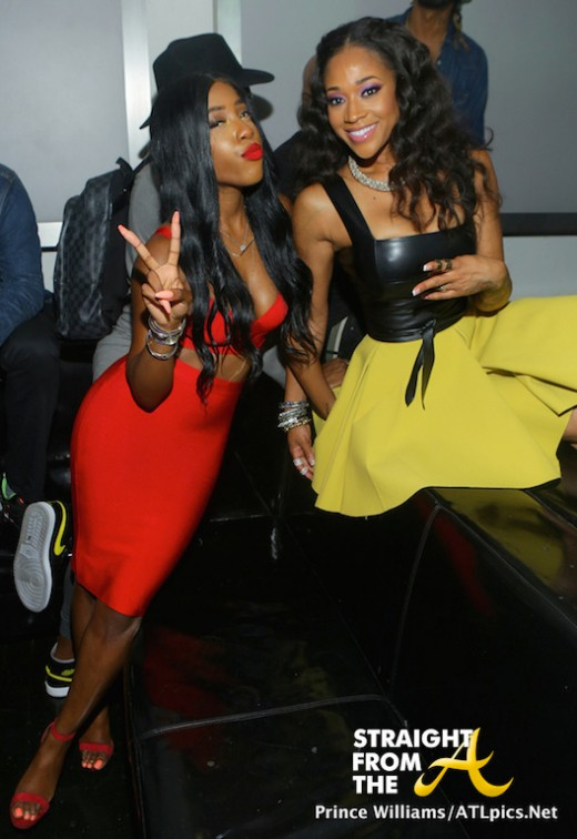 Sevyn Streeter and Mimi Faust