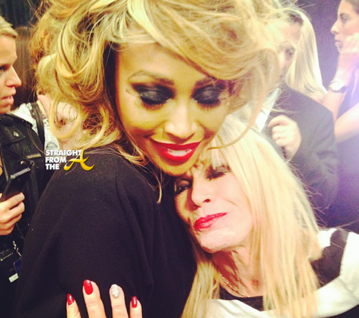 Cynthia Bailey and Betsey Johnson 2014 NYFW StraightFromTheA-14