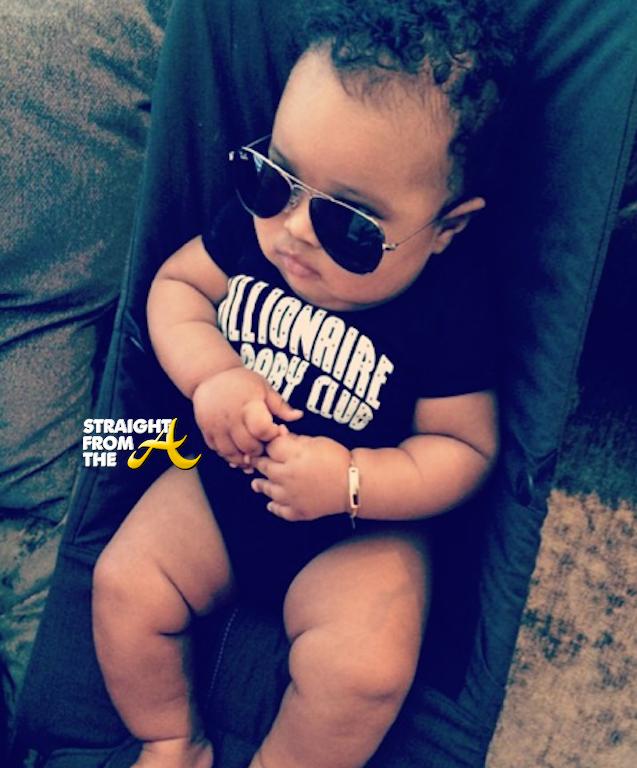 Future Zahir Wilburn Ciara And Future Son 1 Straight