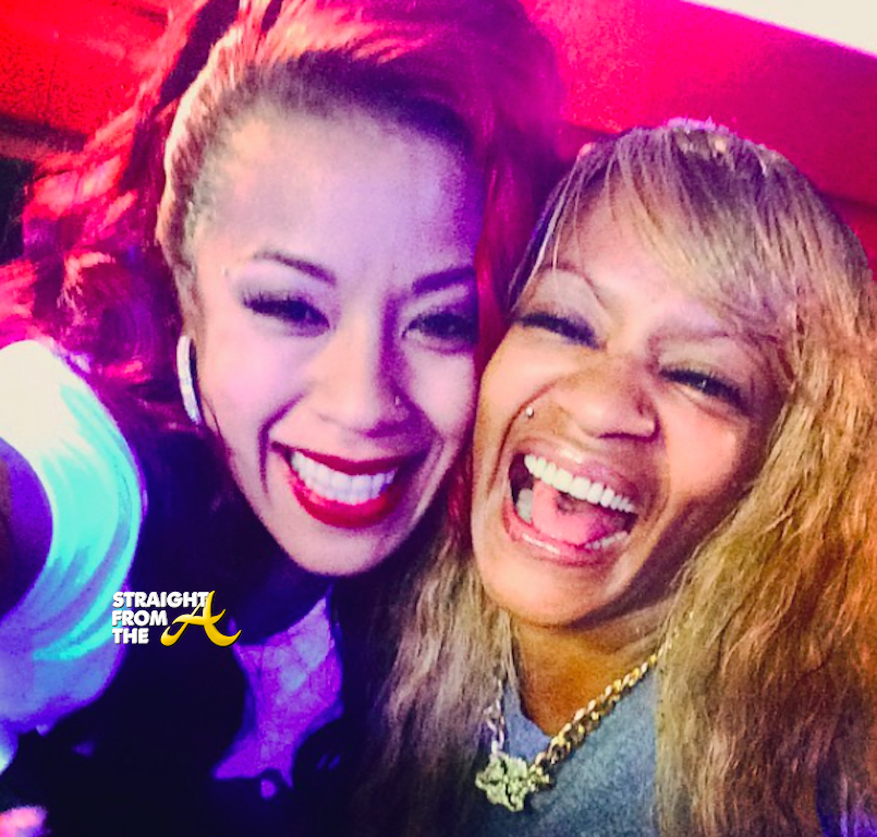 Keyshia Cole And Frankie Lons Straightfromthea 1 Straight From