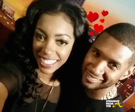 Porsha Williams Usher Raymond - StraightFromTheA