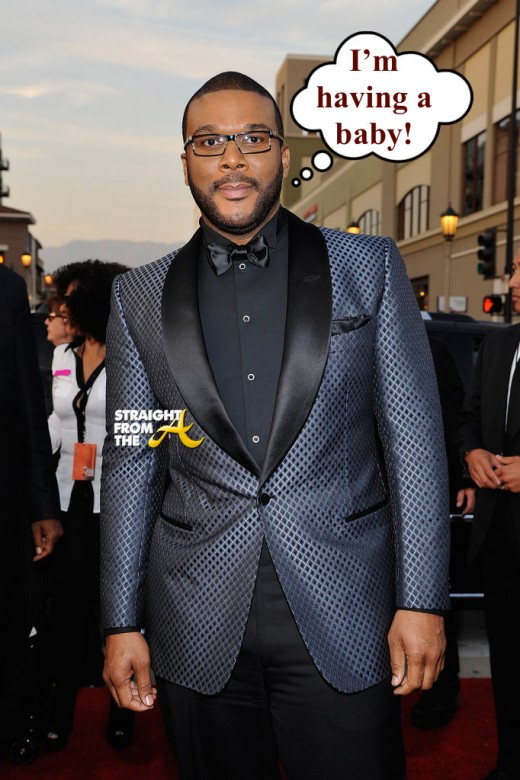 Tyler Perry Baby Announcement - StraightFromTheA