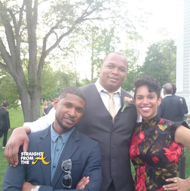 Usher Wedding: Usher Grace Miguel