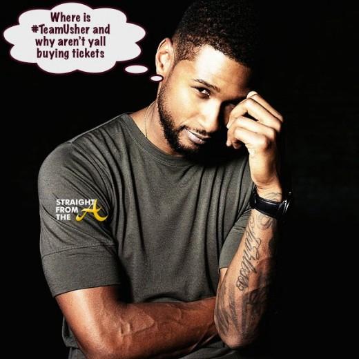 Usher Raymond - StraightFromTheA
