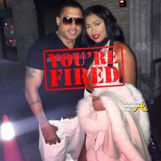 Benzino Althea Fired LHHATL StraightFromTheA 2