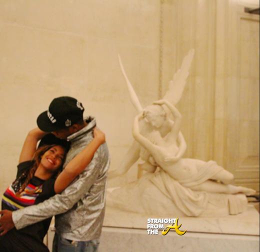 Beyonce Jay-Z Paris Louvre - StraightFromTheA-9