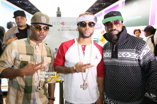 Brandon Casey, Brian Casey, Kyle Norman of Jagged Edge