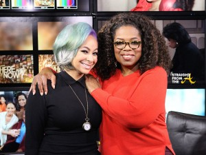 Raven Symone and Oprah - StraightFromTheA