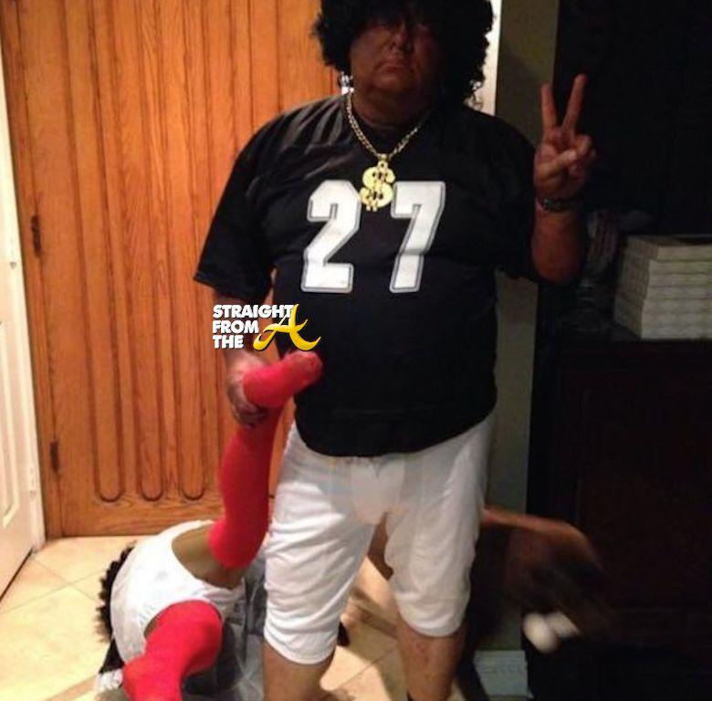 Ray Rice Halloween 11 & Ray Rice u0026 Adrian Peterson Halloween Costumesu2026 Funny? Or Nah? [PHOTOS]