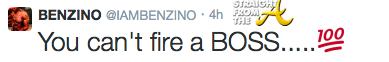 benzino tweet