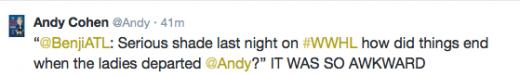 Andy tweet 1