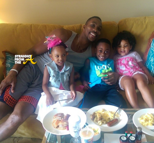 Dwight Howard and kids 2014