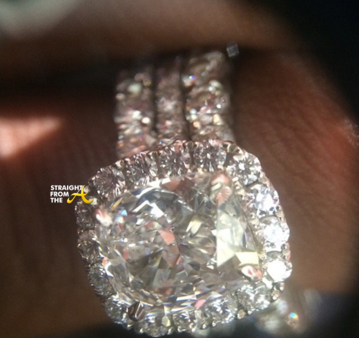 Fantasia Married Engagement Ring - StraightFromTheA 1