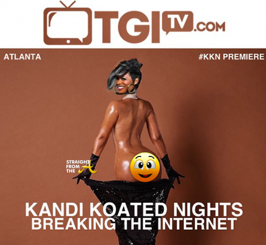 Kandi Burruss Paper Magazine Recreation