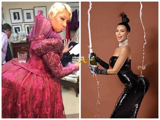Nene leakes Kim Kardashian Paper Mag StraightFromTheA