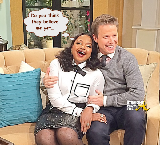 Phaedra Parks Billy Bush Access Hollywood