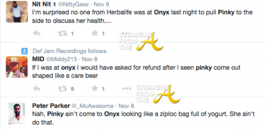Pinky Tweets 2014 1