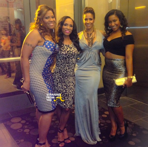 Sheree Buchanan Tamika Fuller Sheree Whitfield Destiny Buchana
