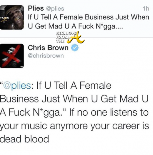 Chris Brown vs. Plies - StraighTFroMTheA