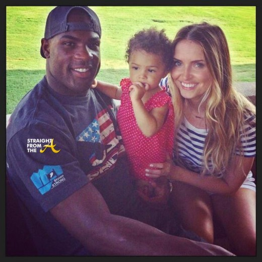 Demarco Murray and baby mama Heidi Mueller